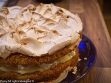 Lemon Meringue Cake and Curd