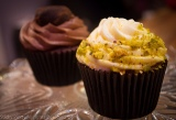 Carrot and Pistachio Cupcakes